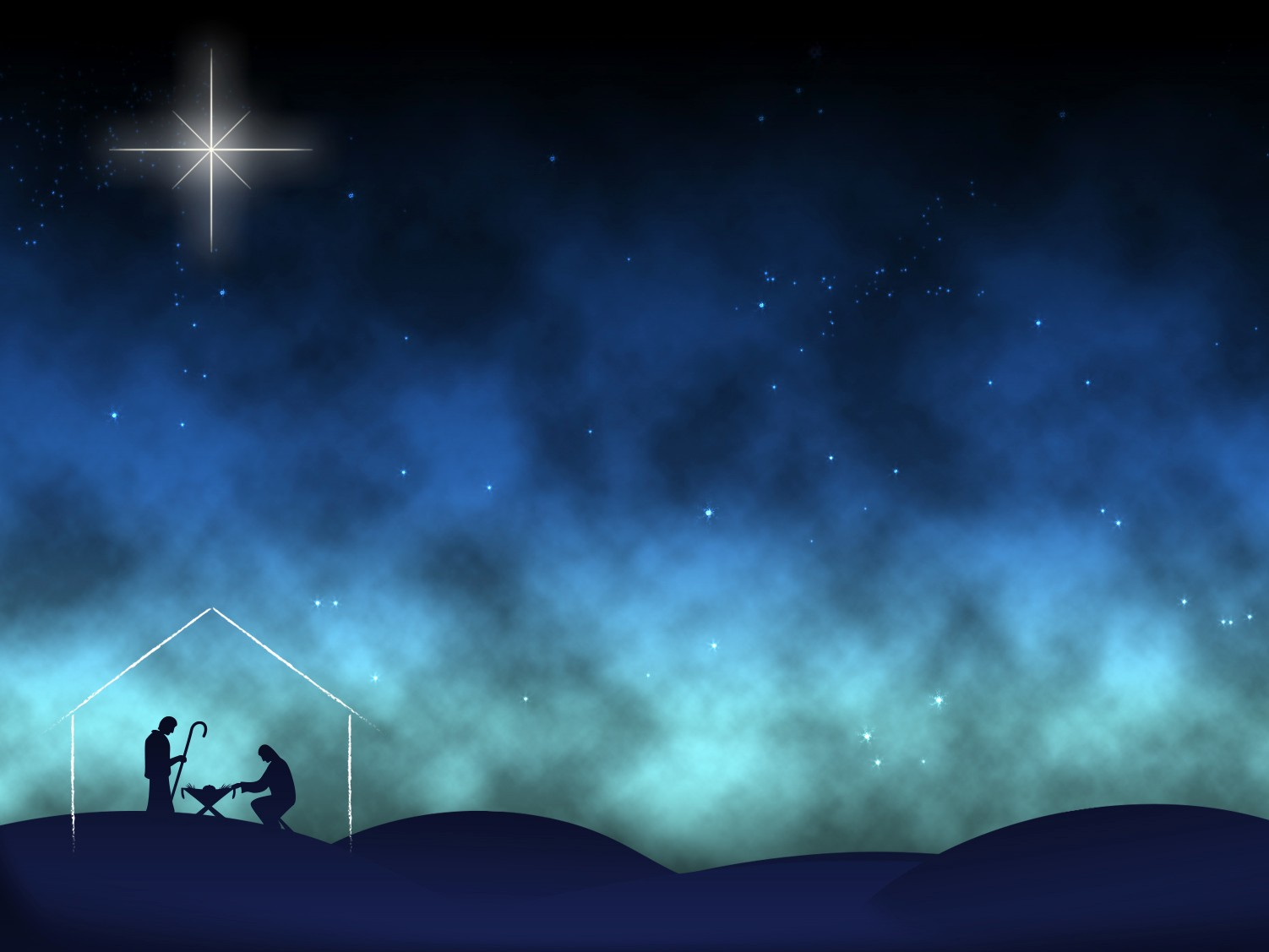 Nativity Worship Background Still